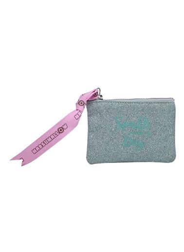 Marshmallow Glitter Sparkle in Green Bozuk Para Cüzdanı 62903 Renkli